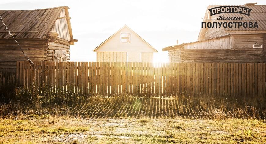 Деревенька на берегу Белого моря
