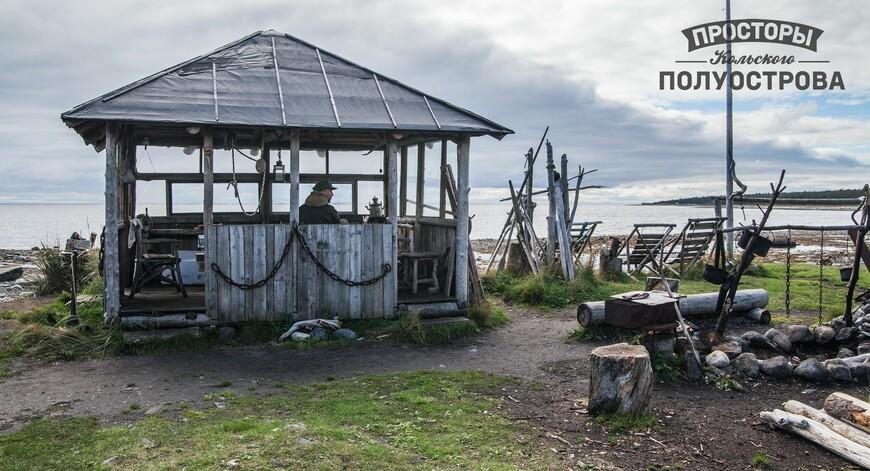 Этнографический центр - Тоня Тетрина Беседка с видом на море и лежаками - курорт!