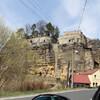 Слоуп в Чехах. Скальный град