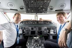 Король Нидерландов «подрабатывал» пилотом пассажирских самолетов KLM