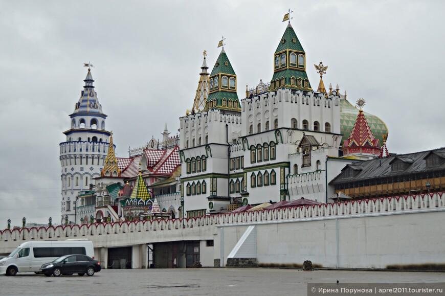 Измайловский Кремль поражает и самой идеей создания и получившимся результатом.