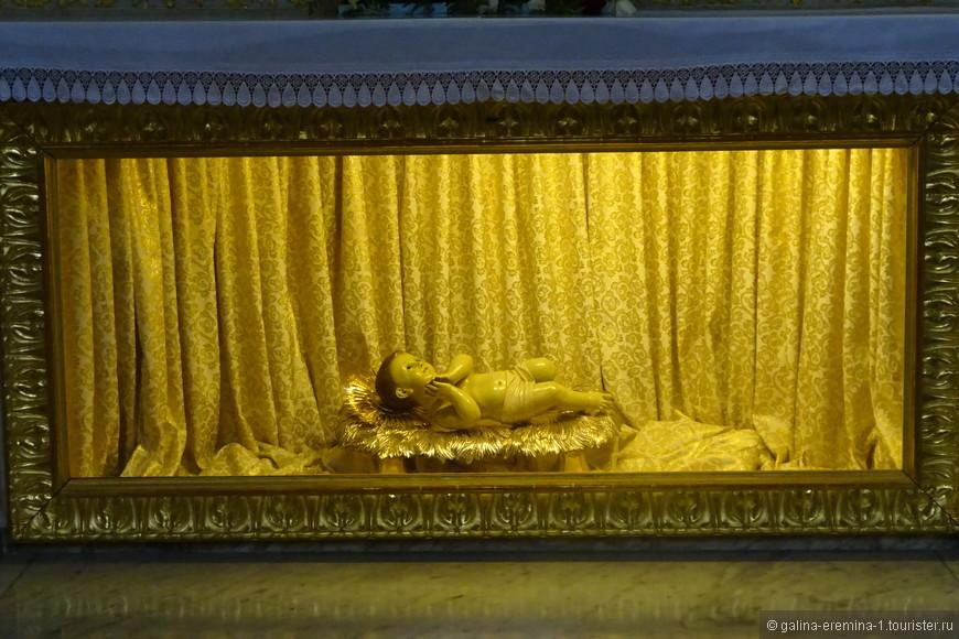 Вифлеем,  Храм Рождества Христова, католический собор св. Екатерины