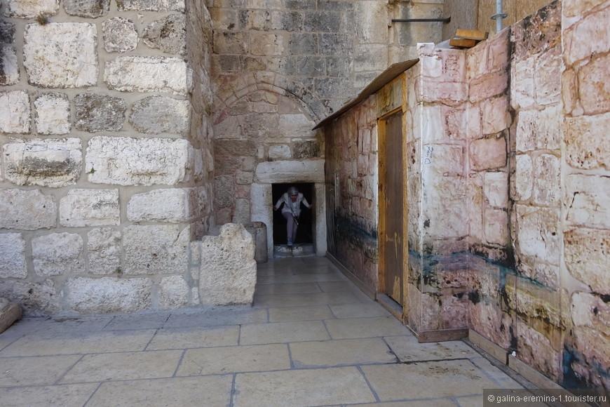 Вифлеем, вход в Храм Рождества Христова