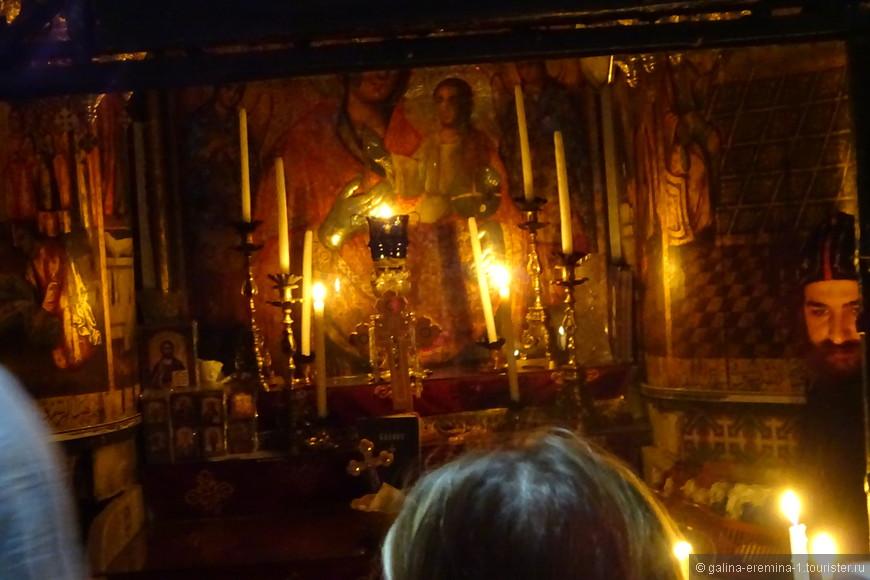 Иерусалим, в Храме Гроба Господня