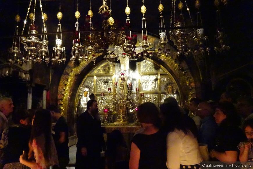 Иерусалим, в Храме Гроба Господня, Голгофа