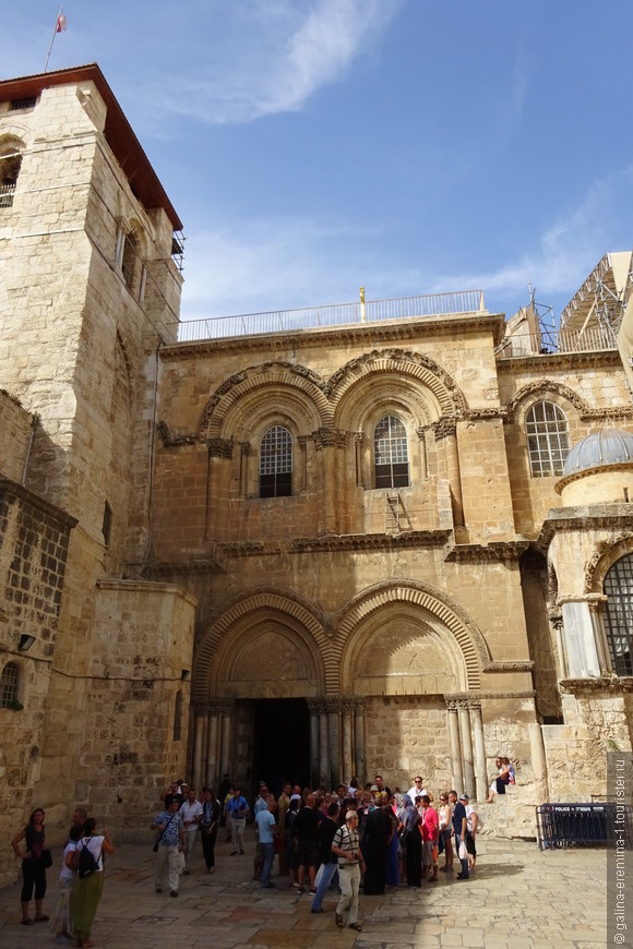 Иерусалим, вход в Храм Гроба Господня