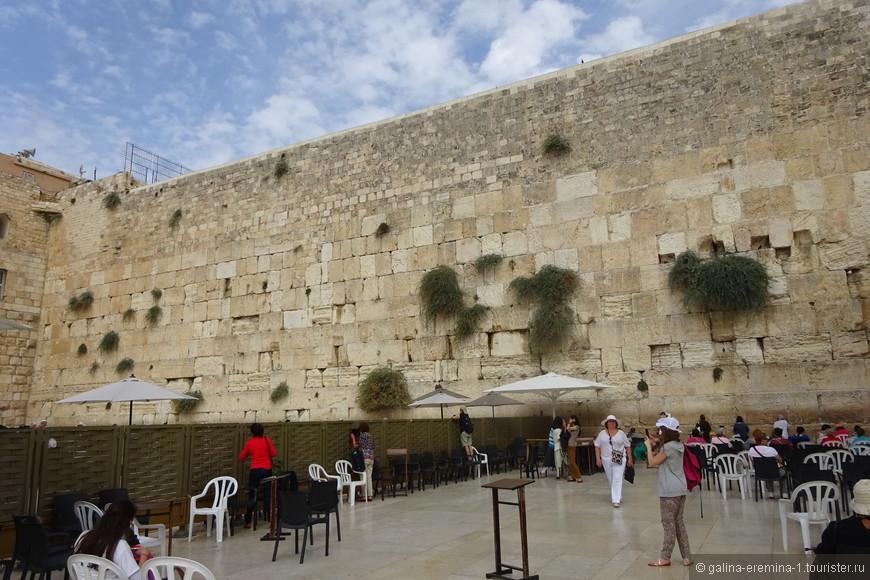 Иерусалим, Стена Плача, женская часть