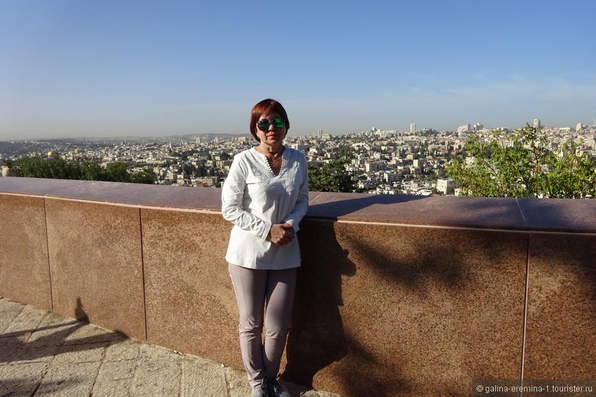 Иерусалим, вид с Масличной горы