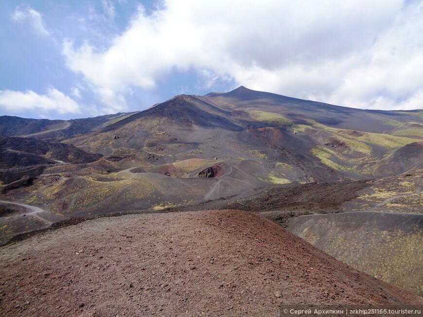 Виды с кратера Сильвестри
