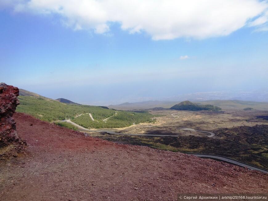 На вершине кратера Сильвестри