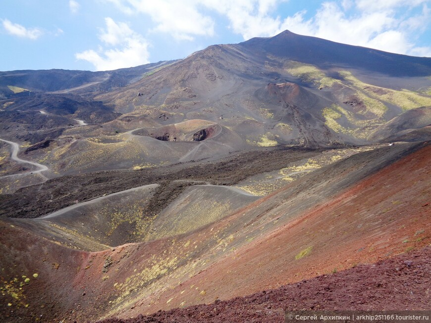 Долина кратеров Этны