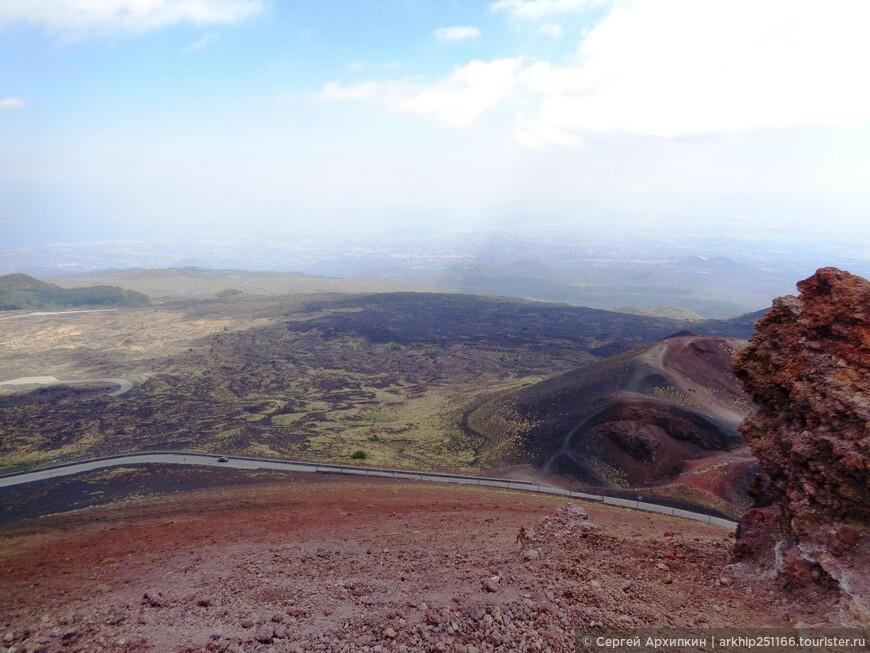 Виды с кратера