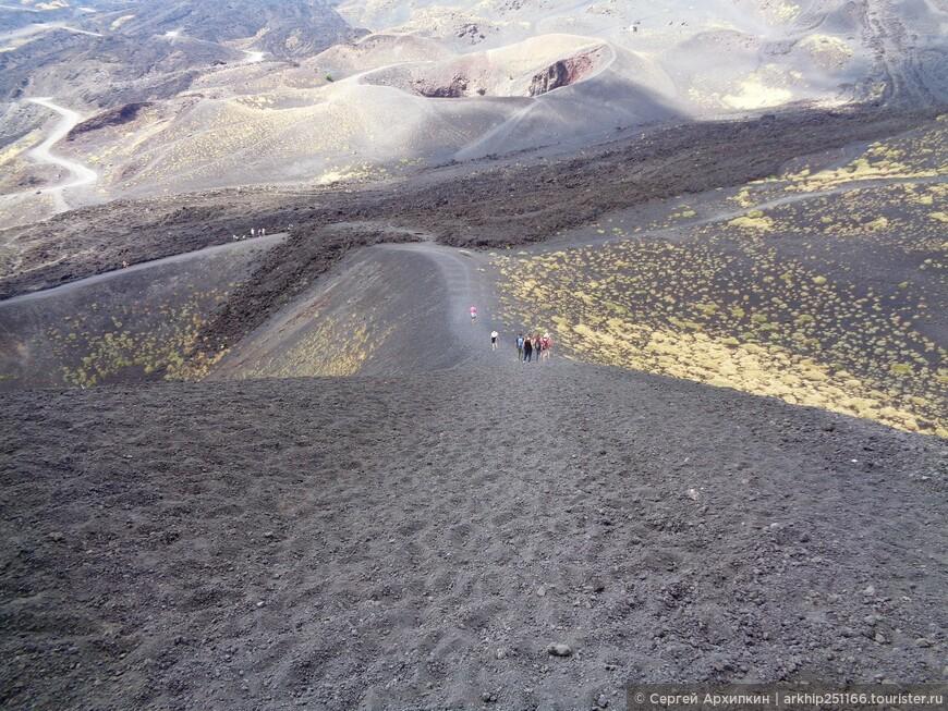 На кратере Сильвестри