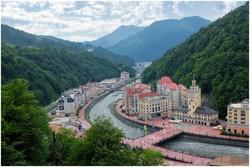"Парк водопадов откроют летом на курорте ""Роза Хутор"""