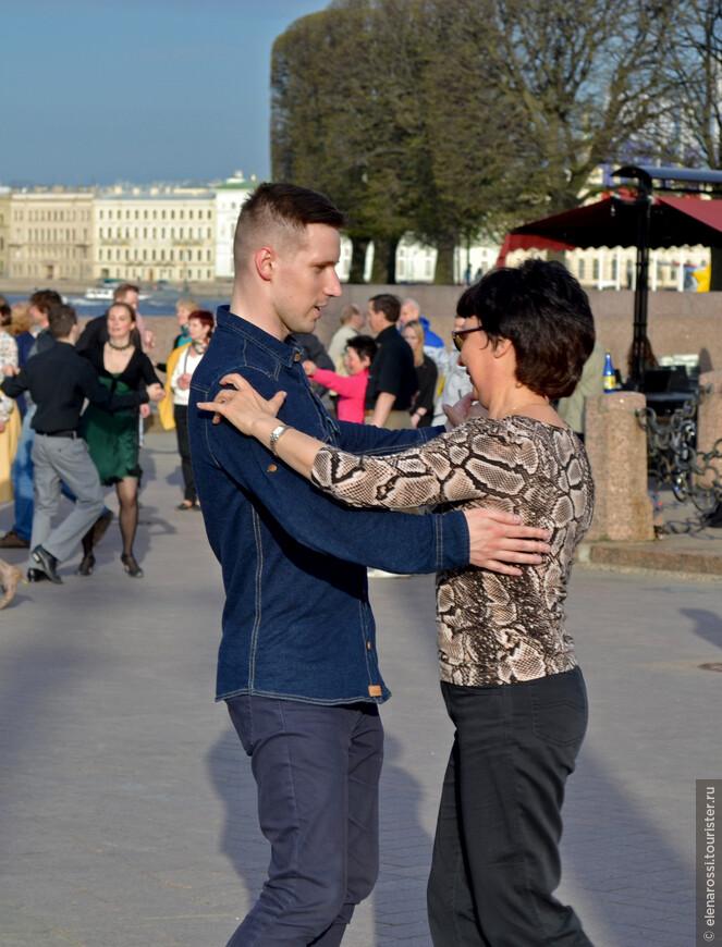 Конечно, танец - это общение!