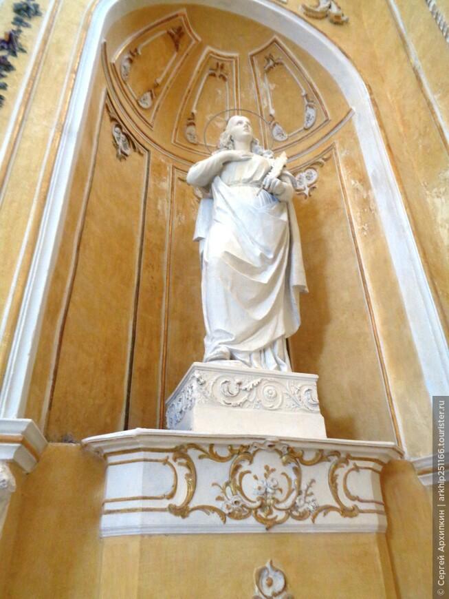 В Кафедральном соборе Ното