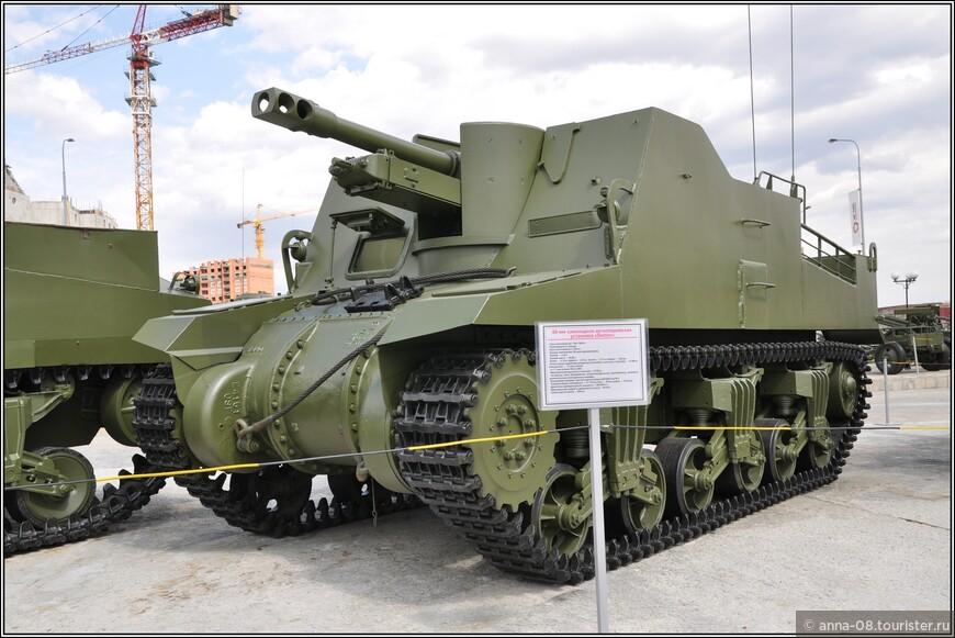 88-мм самоходня артиллерийская установка Sexton