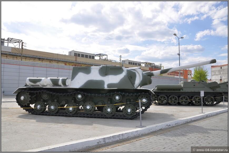 122-мм самоходная артиллерийская установка ИСУ-122 образца 1944 г.