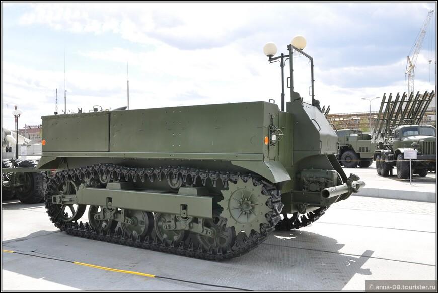 Артиллерийский тягач М5