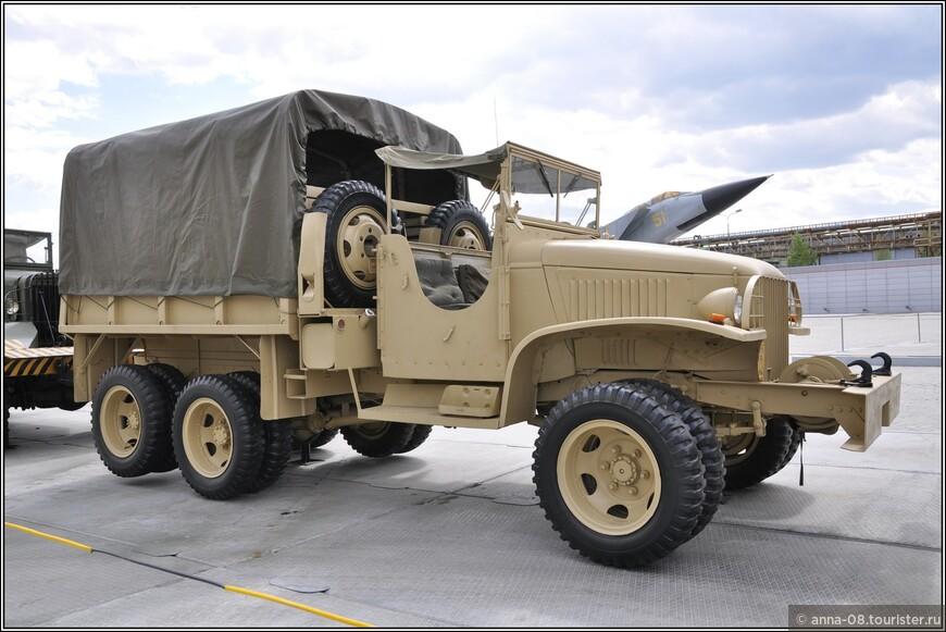 Грузовой автомобиль GMC CCKW-352