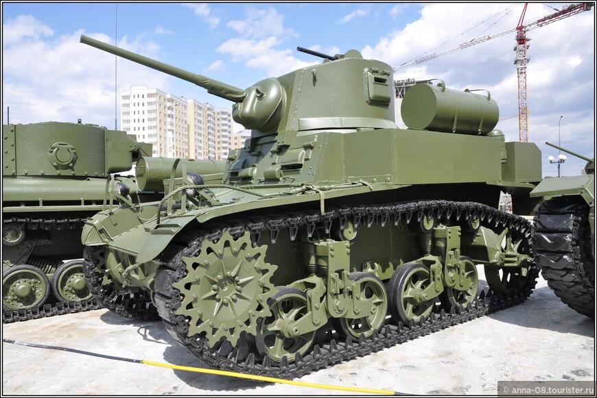 Легкий танк М3А1 «Stuart»