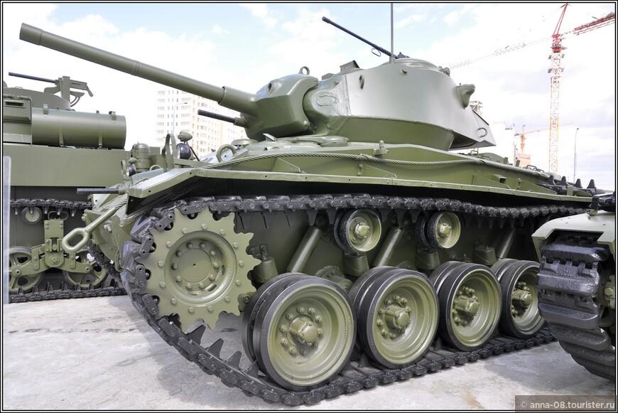 Легкий танк М24 «Chaffee»