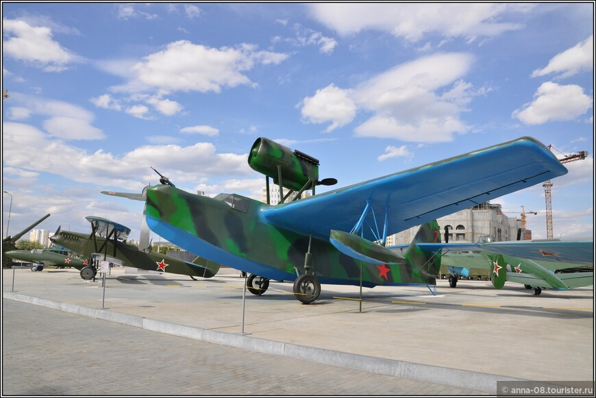 Морской ближний разведчик МБР-2-М-34