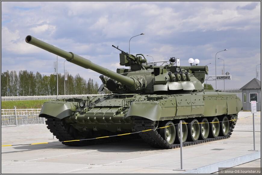 Основной боевой танк Т-80-УД «Береза» образца 1987 г.