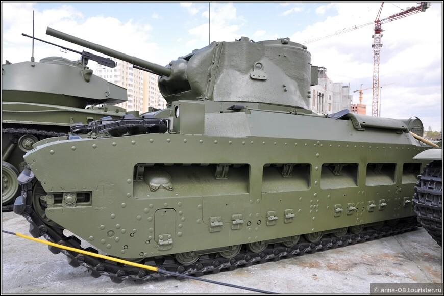 Пехотный танк Mk.IIA «Matilda»