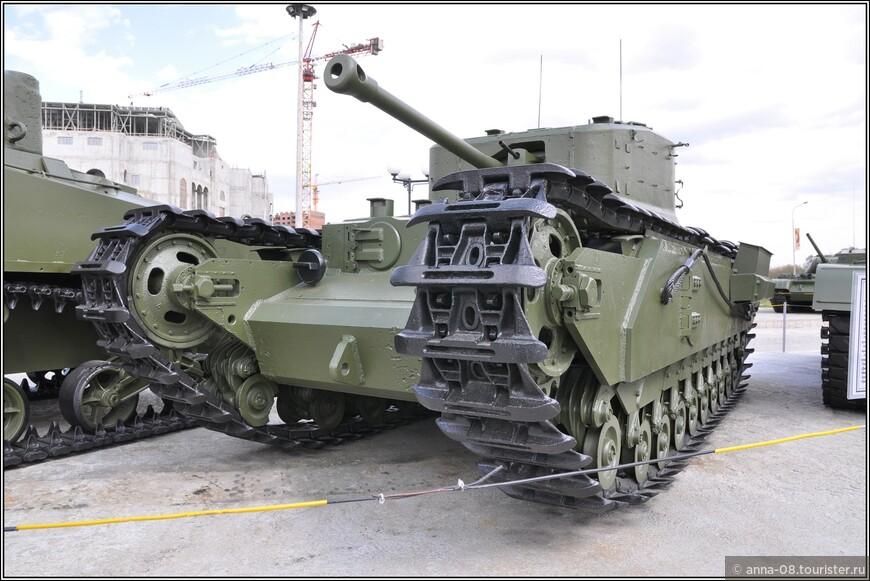 Пехотный танк Mk.IV «Churchill Crocodile»