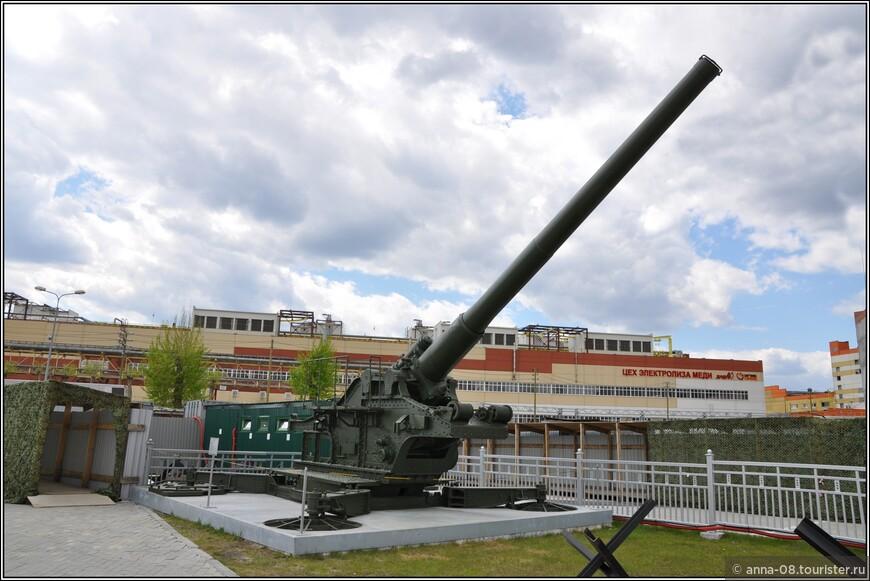 210- мм пушка БР-17 образца 1939 г.