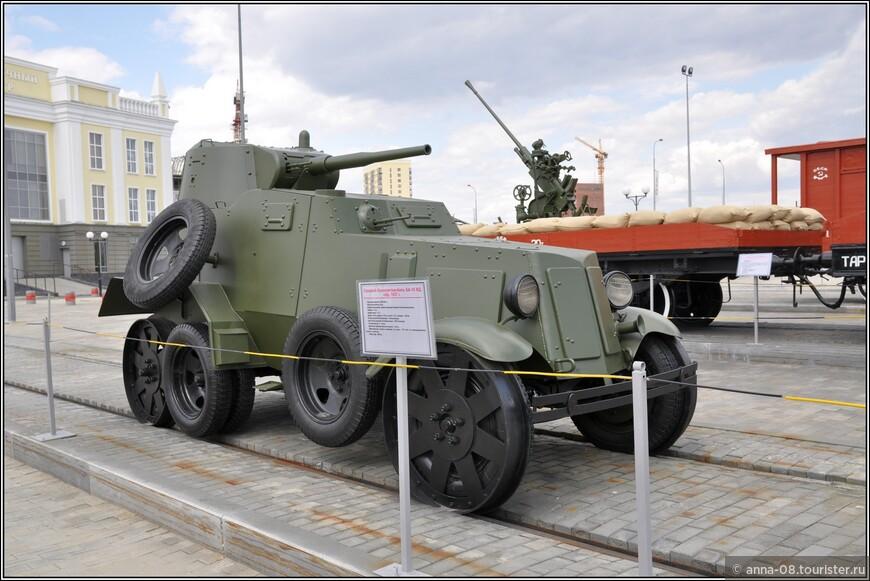 Средний броневой автомобиль БА-10ЖД образца 1937 г.