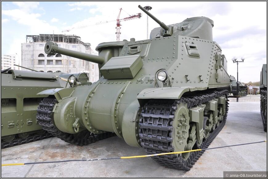 Средний танк М3А5 «Lee»
