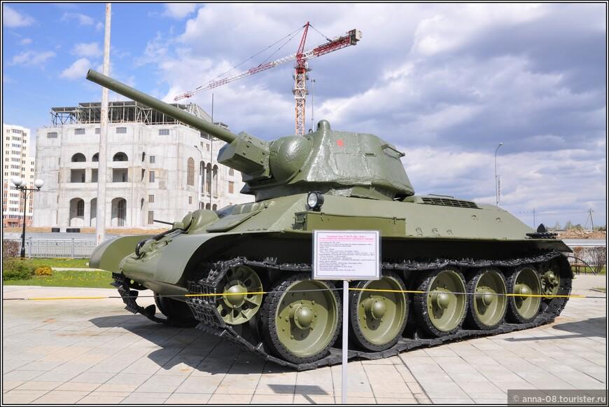 Средний танк Т-34-76 образца 1942 г.