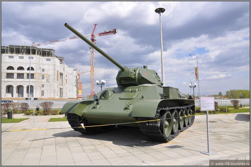 Средний танк Т-34-57 образца 1941 г.