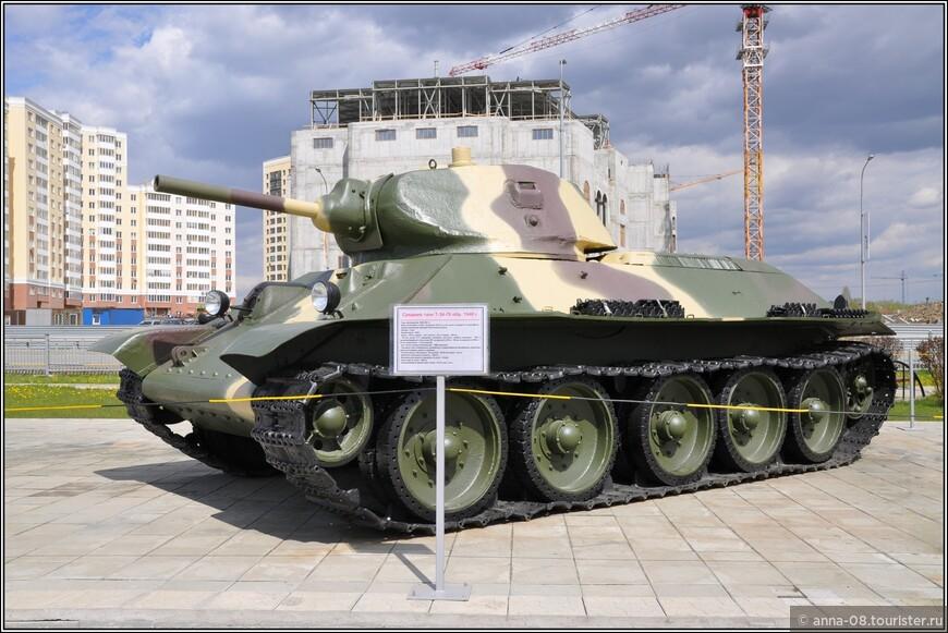 Средний танк Т-34-76 образца 1940 г.