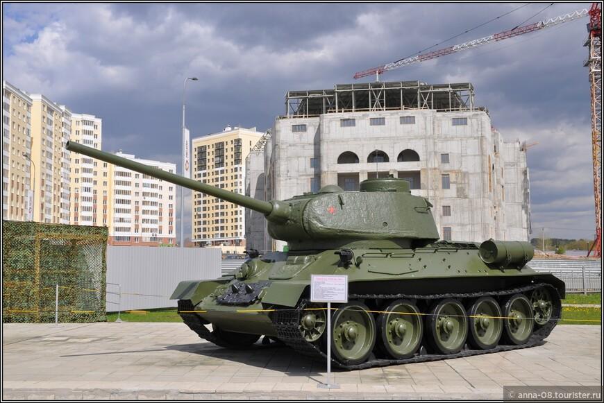 Средний танк Т-34-85 образца 1944 г.