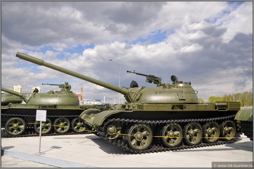 Средний танк Т-55 образца 1958 г.