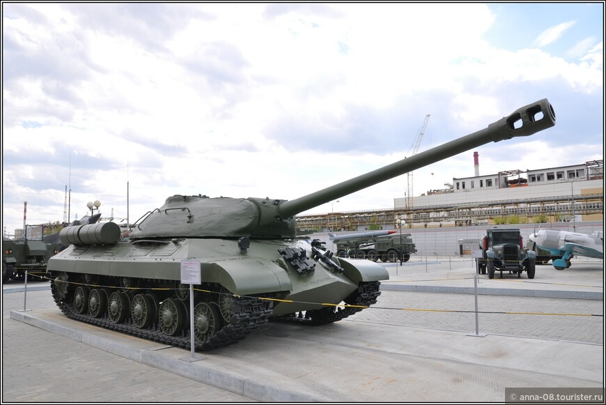 Тяжелый танк ИС-3М образца 1945 г.