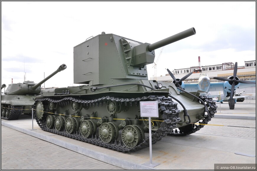 Тяжелый танк КВ-2 образца 1940 г.