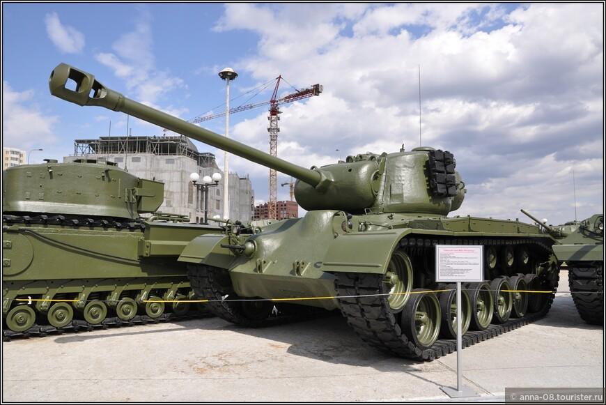 Тяжелый танк М26 «Pershing»