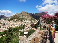 Средневековая и античная Таормина (Сицилия)