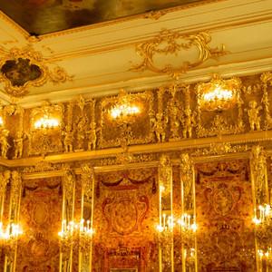 Роскошь Екатерининского дворца