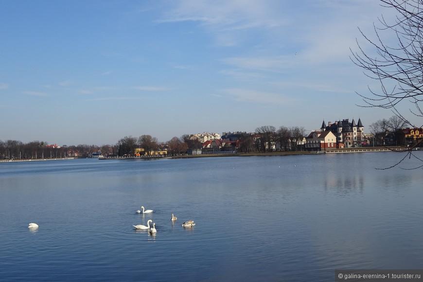 Калининград, Верхнее озеро