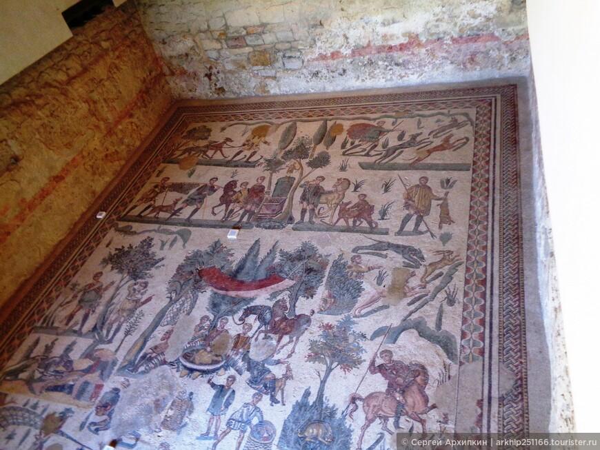 Мозаики виллы Казале