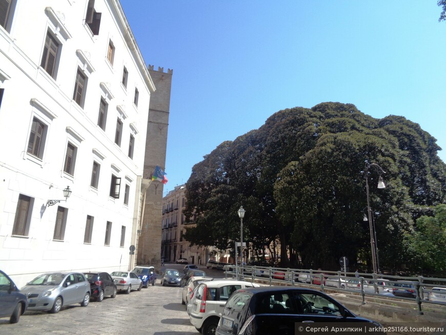 В центре Палермо