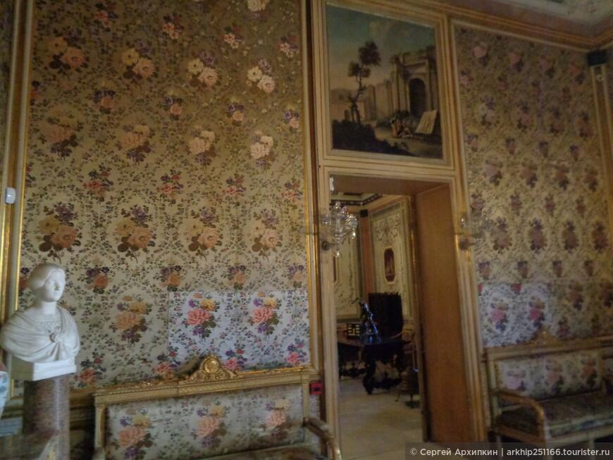 В палаццо Мирто