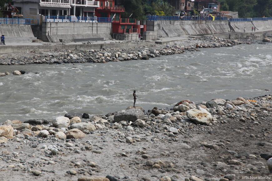 Река Бхагиратхи и йог