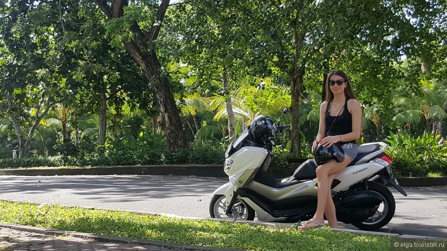 Байк - лучшее средство передвижения на Бали.