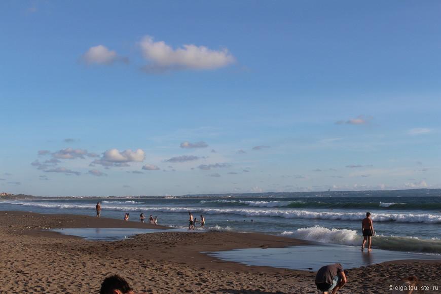 Волны - спутники острова Бали